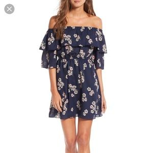 NWT Cupcakes and Cashmere Off The Shoulder Dress